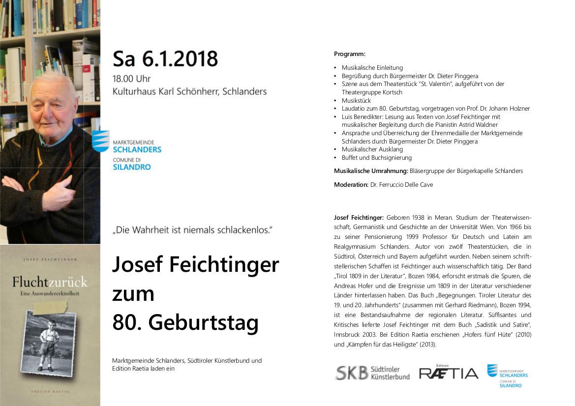 Josef Feichtinger 2018 Veranstaltungen Bis 2018 Archiv